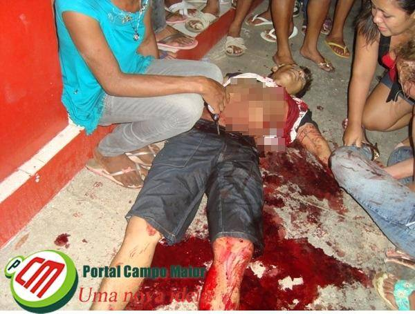 PI: Jovem é morto a facadas em seresta; imagens fortes!
