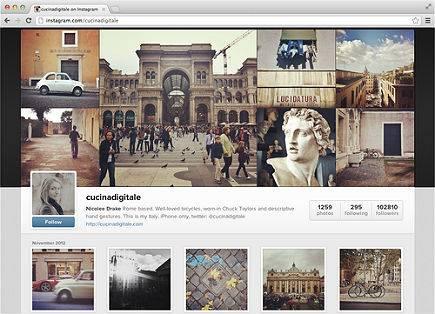 Instagram lança versão cópia do Facebook com página para perfil