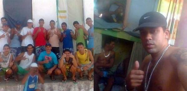 Em presídio, detentos postam fotos no Facebook sem restrições