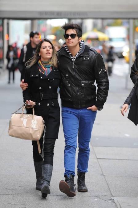 Luan Santana curte lua de mel com namorada em Nova York