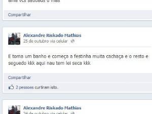 Presos atualizavam Facebook de dentro da cadeia: