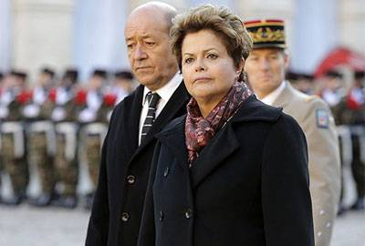Dilma fala em tentativa