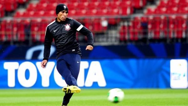 Timão faz seu último treino antes de partida contra time egípcio pelo Mundial de Clubes