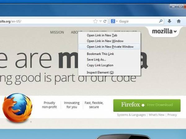 Mozilla anuncia navegação segura por aba e simulador versão 1.0