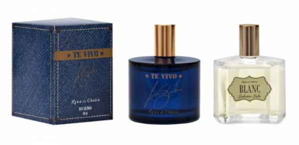 Marca de cosméticos lança perfumes assinados por Luan Santana e Sabrina Sato