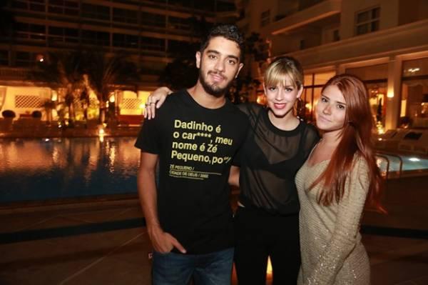Marina Ruy Barbosa e Klebber Toledo badalam na noite do Rio