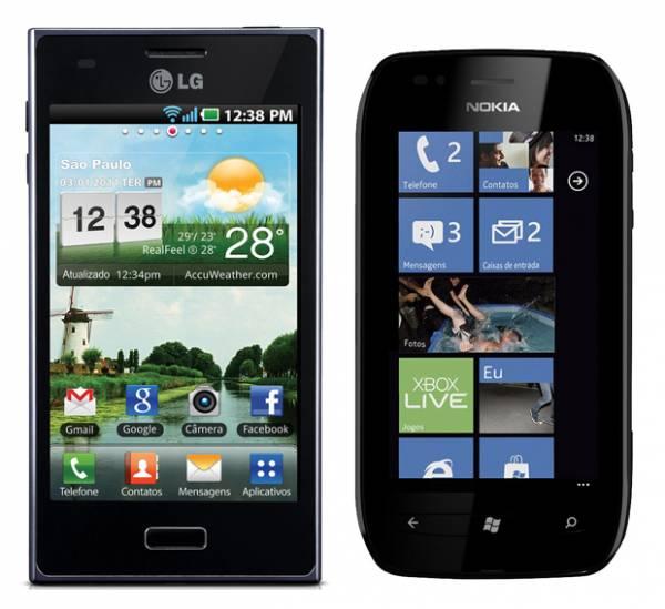 Melhores smartphones com preços entre R$ 600 e R$ 1,2 mil