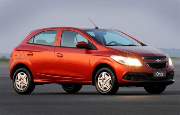 Chevrolet Onix é 6º carro mais vendido na primeira quinzena de dezembro