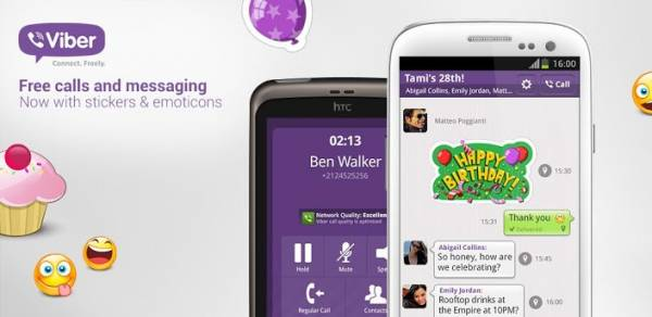 Viber alcança 140 milhões de usuários e lança update com emoticons