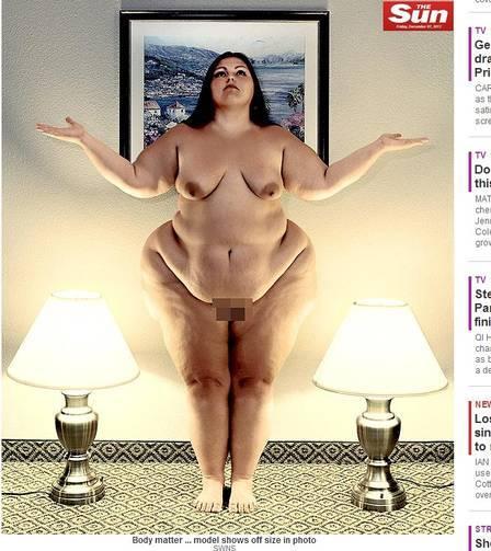Fotógrafo registra mulheres com obesidade mórbida em poses artísticas e provocantes