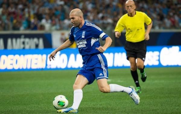 Zidane coloca o Brasil como favorito na Copa de 2014: