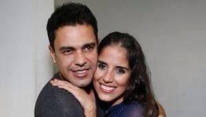 Zilu faz declaração de amor ao ex, Zezé Di Camargo, e a filha