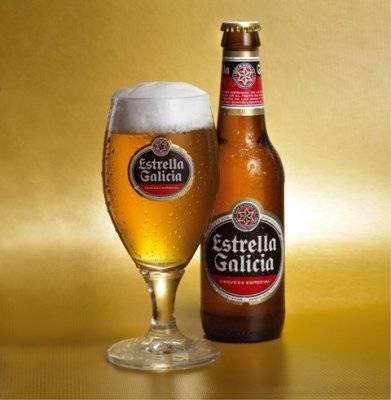 Cerveja espanhola Estrella Galicia será produzida no Brasil