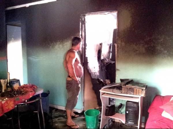Menina de 13 anos se joga da janela para escapar de incêndio