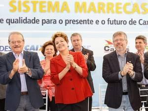 Dilma afirma querer taxa de câmbio
