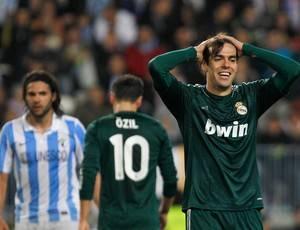 Fora de casa e sem o capitão em campo, o Real Madrid é derrotado Málaga por 3 a 2