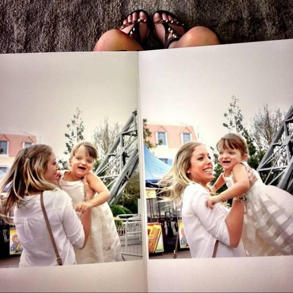 Irmã de Rafa Justus posta fotos da menina em rede social