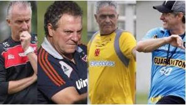 Técnicos de Flamengo, Fluminense, Vasco e Botafogo fazem avaliação de 2012