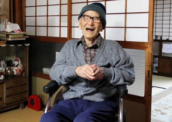 Guiness: Aos 115 anos, japonês se torna homem que mais viveu