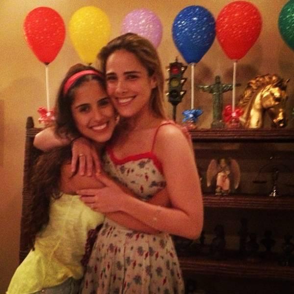 Wanessa comemora aniversário de 30 anos com festa em família