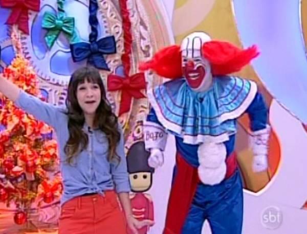 Palhaço Bozo estreia no SBT e emissora mantém o terceiro lugar