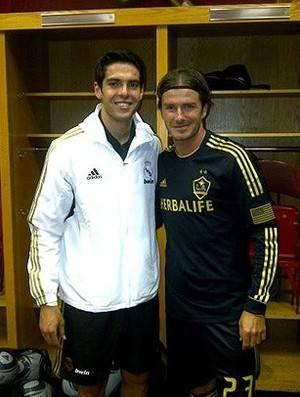 Substituto? Beckham faz coro para Los Angeles Galaxy contratar Kaká
