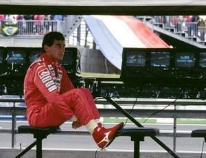 Ayrton Senna aparece apenas em 4º em top 10 da F-1 de revista italiana