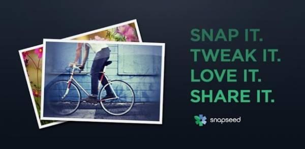 Aplicativo de edição de imagens Snapseed é lançado para Android