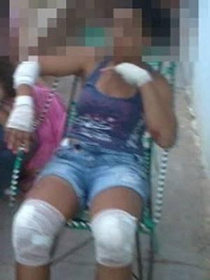No Ceará, mulher pula de moto em movimento e evita sequestro