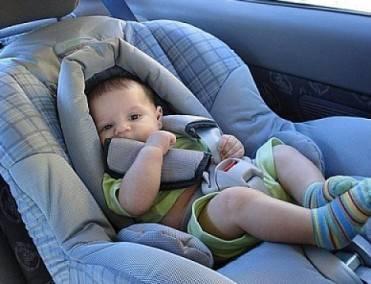 Pesquisa: Só 57% dos pais usam as cadeirinhas nos automóveis