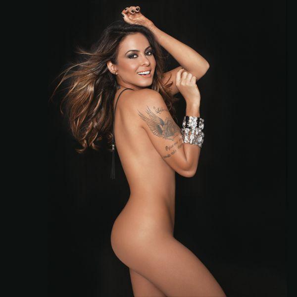 Alinne Rosa mostra sensualidade em ensaio fotográfico