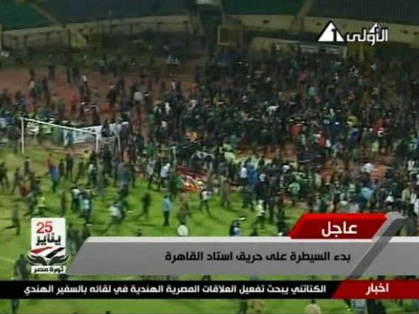 Briga entre torcidas rivais deixa mais de 70 mortos no Egito
