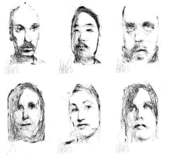 Cientista cria robô artista que desenha retratos