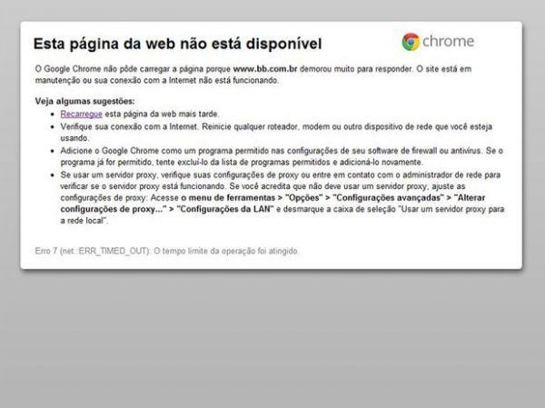 Site do Banco do Brasil sai do ar em 3° ataque de hackers