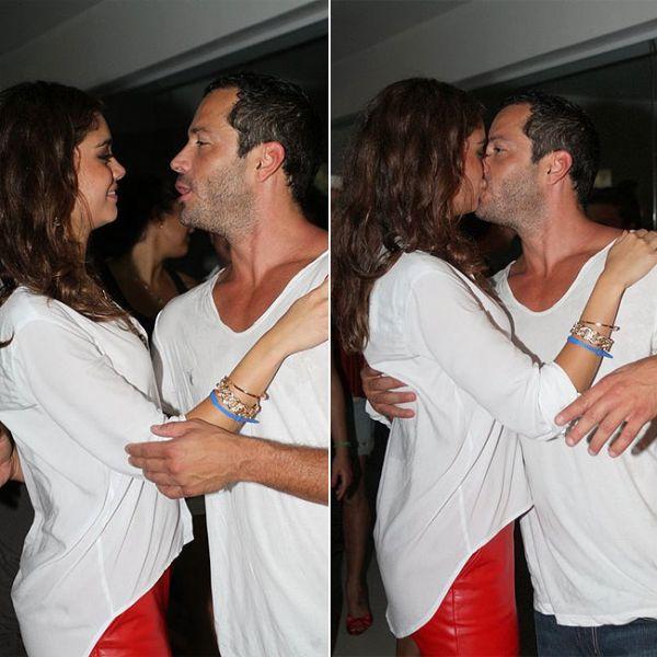Malvino Salvador e Sophie Charlotte trocam beijos após separação