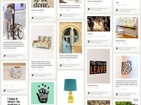 Web: Polêmico, nova rede social Pinterest atrai milhões de usuários