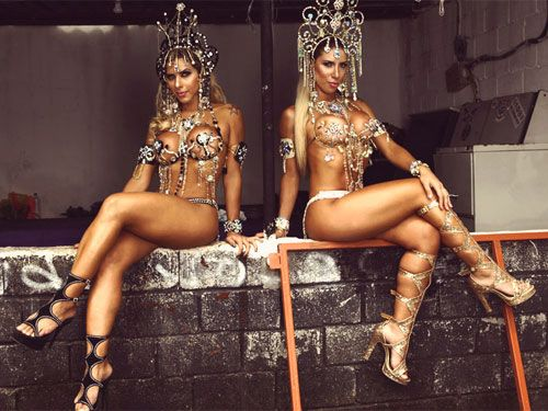 Irmãs da Gaviões deixam até palmeirense louco com belas curvas; confira ensaio sensual!