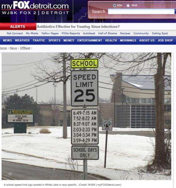 Sinalização de trânsito confunde motorista por excesso de informação