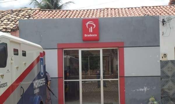 Ladrões tentam assaltar agência do Bradesco no interior do PI