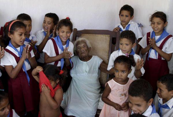 Mulher considerada a mais velha de Cuba comemora 127 anos