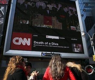 Funeral de Whitney Houston bate recorde de audiência nos EUA