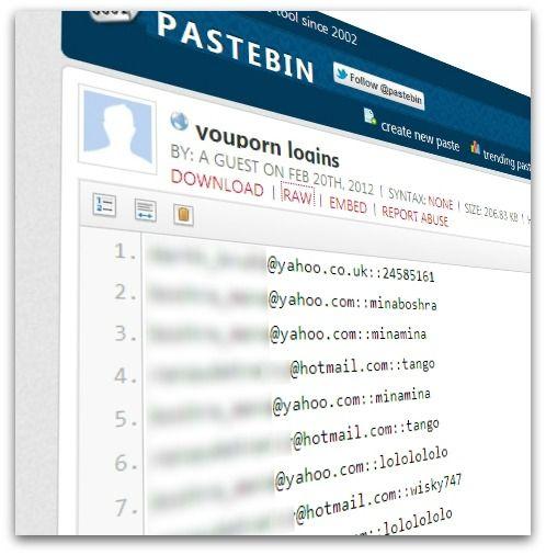 1 milhão de e-mails e senhas do site YouPorn são expostas na web