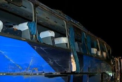 Ônibus tomba e deixa mortos na BR-040, em MG