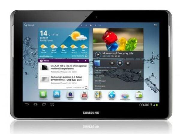 Samsung mostra Galaxy Tab 2 com Android 4