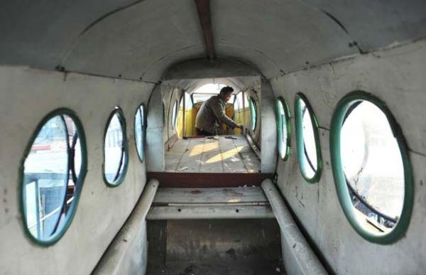 Chinês constrói avião em casa