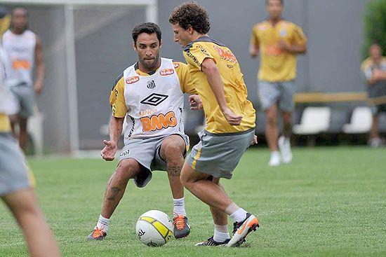 Sem Ganso, rivais Elano e Ibson jogarão juntos no Santos em Campinas