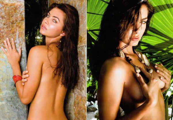 Filha de Datena já havia posado nua antes de ensaio sexy para revista mexicana; fotos!