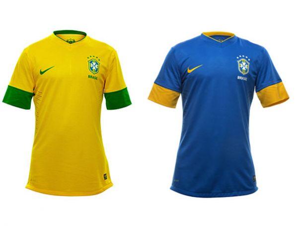 Neymar e Ganso apresentam nova camisa da Seleção: fim da tarja verde