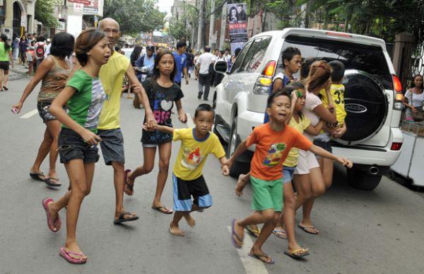 Número de mortos em terremoto nas Filipinas passa de 40