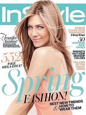 Jennifer Aniston diz a revista que não há disputa com Angelina Jolie